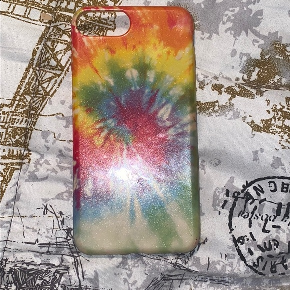 Claire's Accessories - Tie-dye iPhone 8+ case